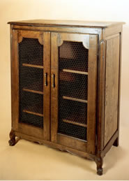 OCD19 French Style Side Cabinet with Grills