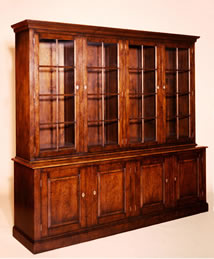 OS4 4-Door Open Top Bookcase