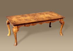 WV7 Walnut Veneered Coffee Table