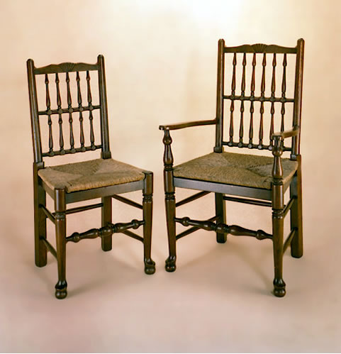 OC4 Spindleback Chairs