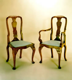 OC9 Queen Anne Style Chairs